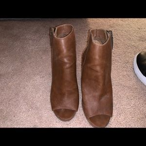 Madden girl booties normal wear and tear
